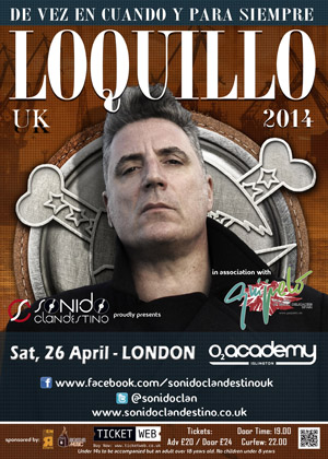 LOQUILLO 26.4.14 Londres