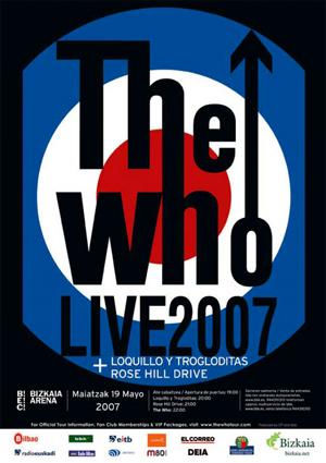 THE WHO 19.5.07 Barakaldo