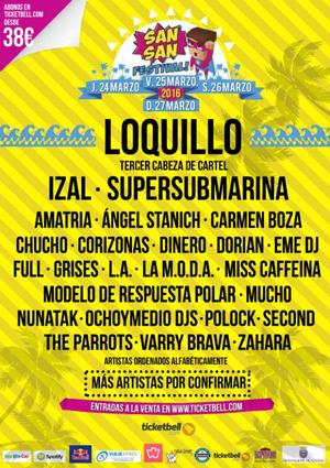 LOQUILLO Sansan Festival 2016